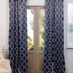 Seville Navy Blackout Curtain