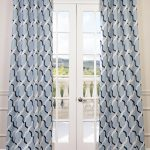 Voyager Blue Grommet Blackout Curtain