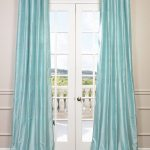 Spa Dupioni Silk Curtain
