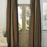 Ripon Multi Stripe Designer Silk Curtain