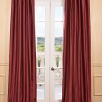 Cherrywood Yarn Dyed Faux Dupioni Silk Curtain
