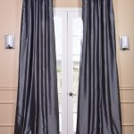 Granite Faux Silk Taffeta Curtain