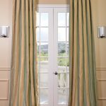 Orinda Faux Silk Taffeta Stripe Curtain