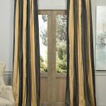 Madrid Faux Silk Taffeta Stripe Curtain