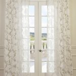 Venus White Designer Sheer Curtain