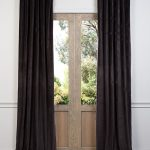 Gaberdine Cotton Velvet Curtain