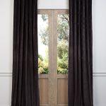 Gaberdine Cotton Velvet Curtain